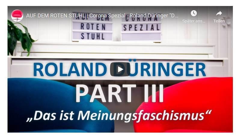 """Corona Spezial - Roland Düringer """"Das ist eigentlich Meinungsfaschismus"""""""